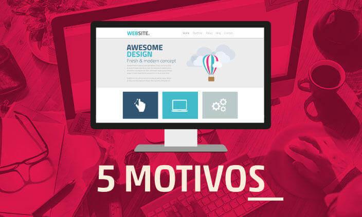 Imagem - 5 motivos para fazer um site para uma empresa