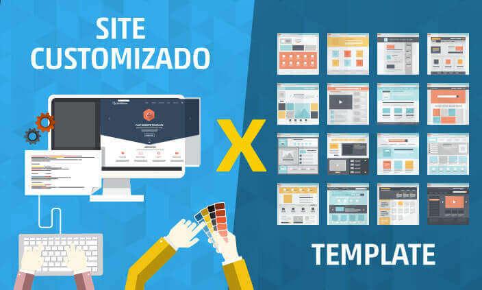 Imagem - Site customizado ou template?